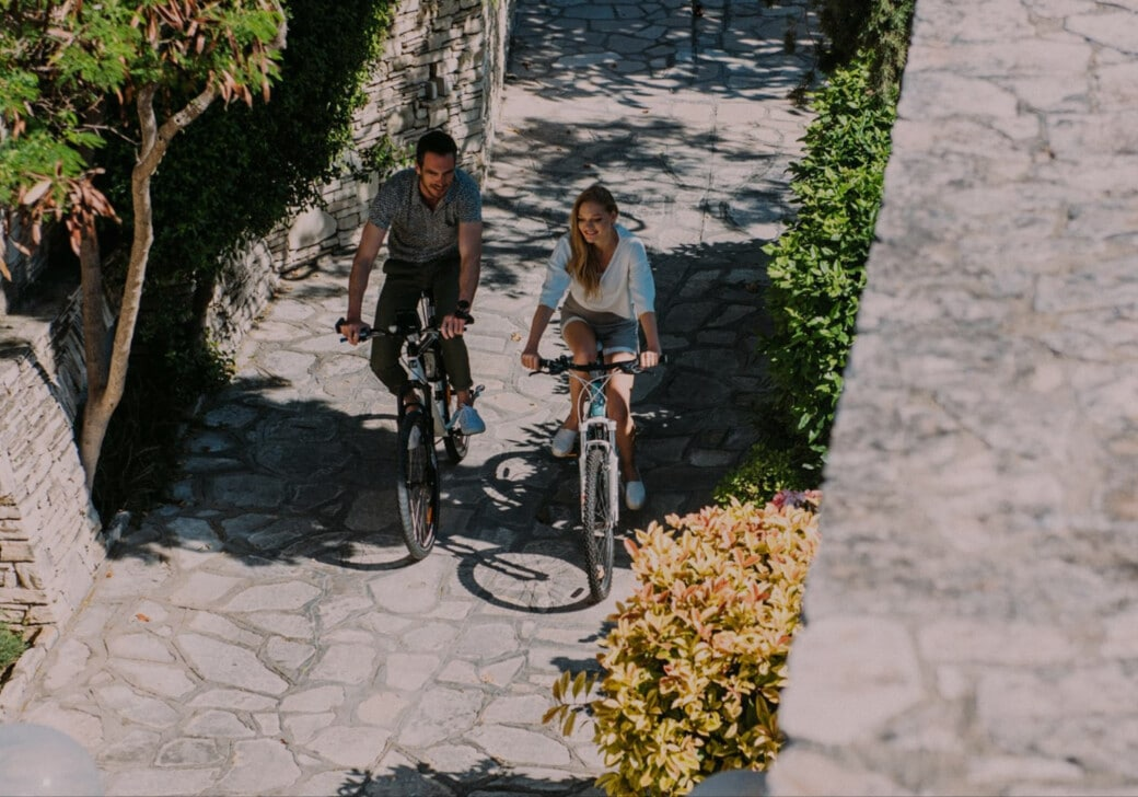 At our bike friendly hotels in Samos, we promote cycling as the most environmental way of getting around