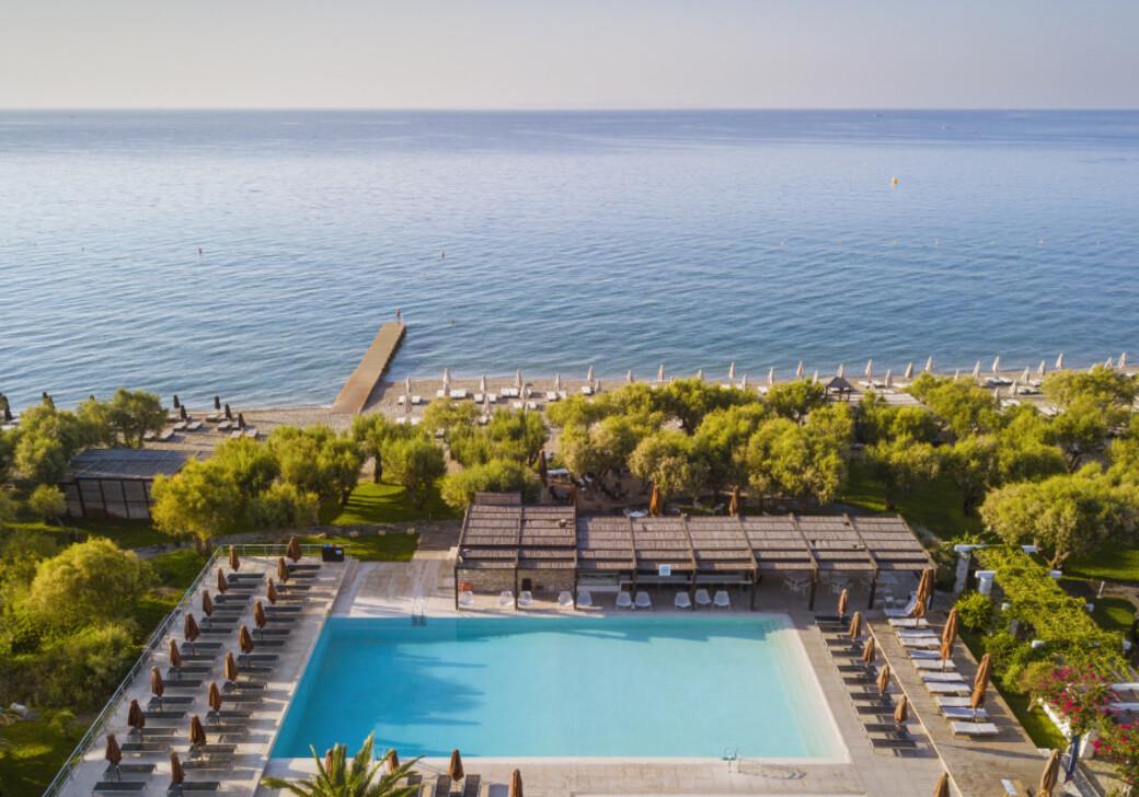 Main pool at Doryssa Seaside, a 5 star luxury resort in Samos