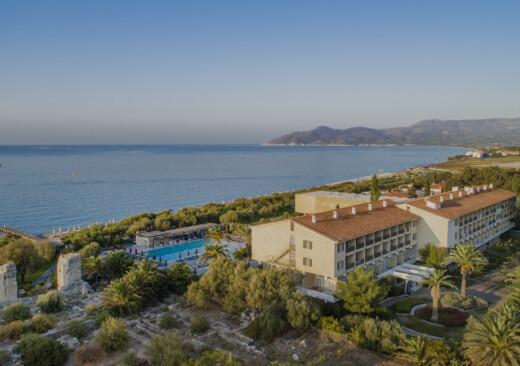 Doryssa Seaside with epic sea views is a 5 star luxury resort in Samos