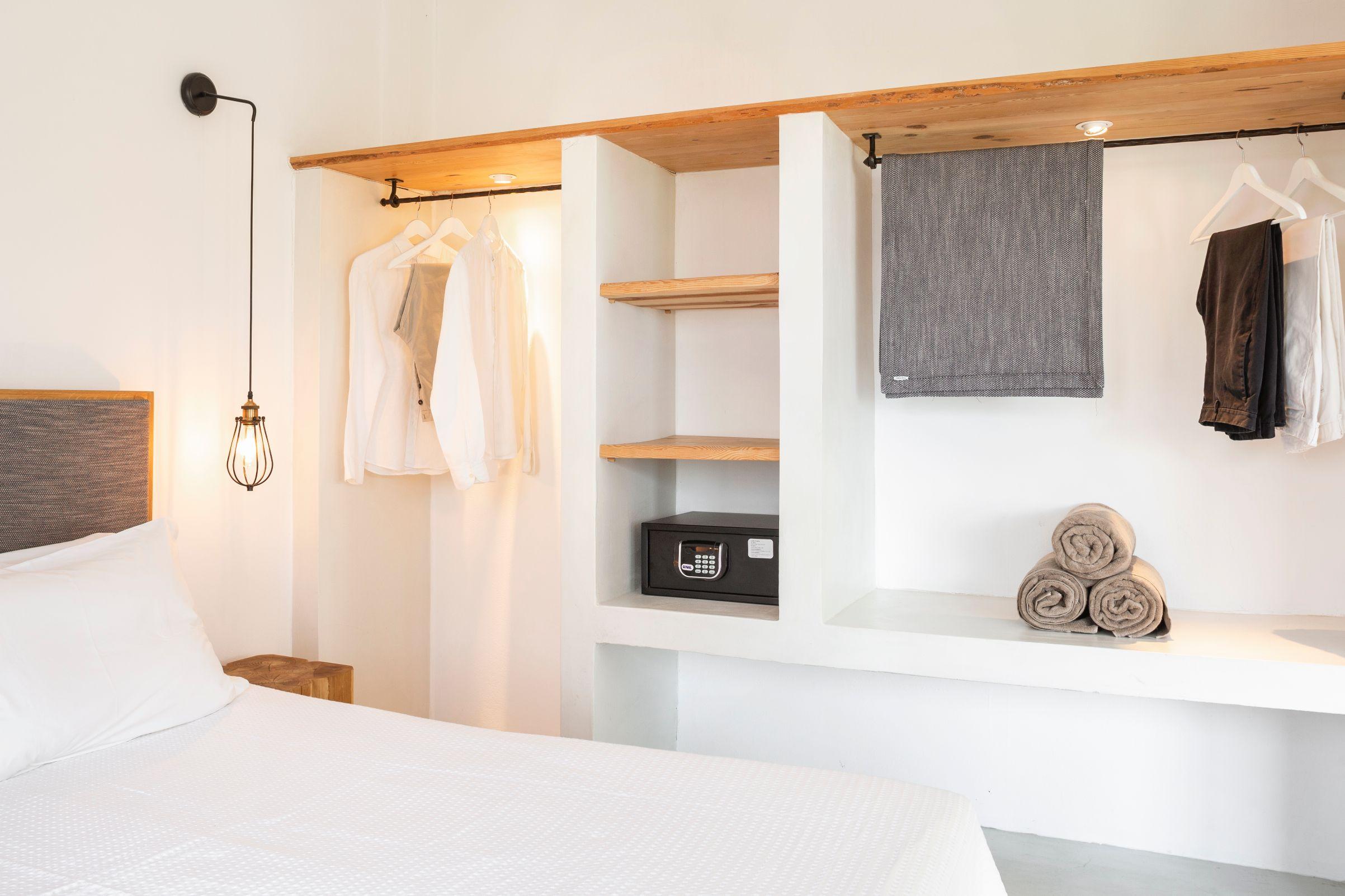 Elegant room interior at Doryssa Coast's beachfront luxury apartments in Samos