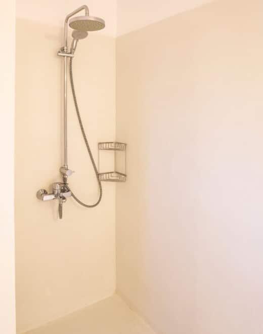 Shower at Doryssa Coast's family apartments in Samos