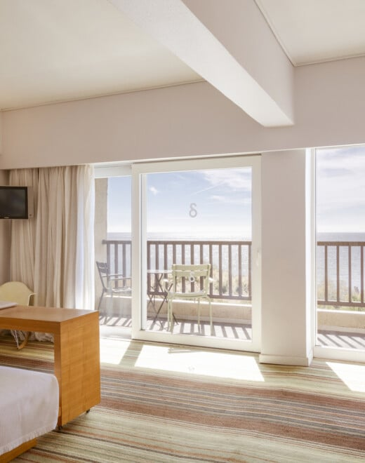suites with sea view in samos