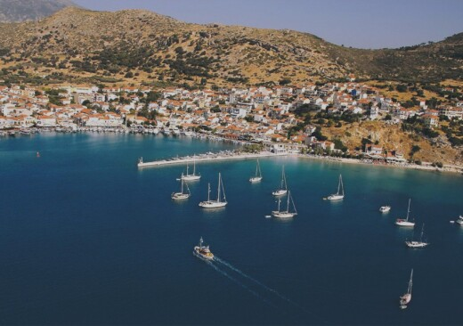 Samos island and coast offers visitors a million and one things to do in Samos