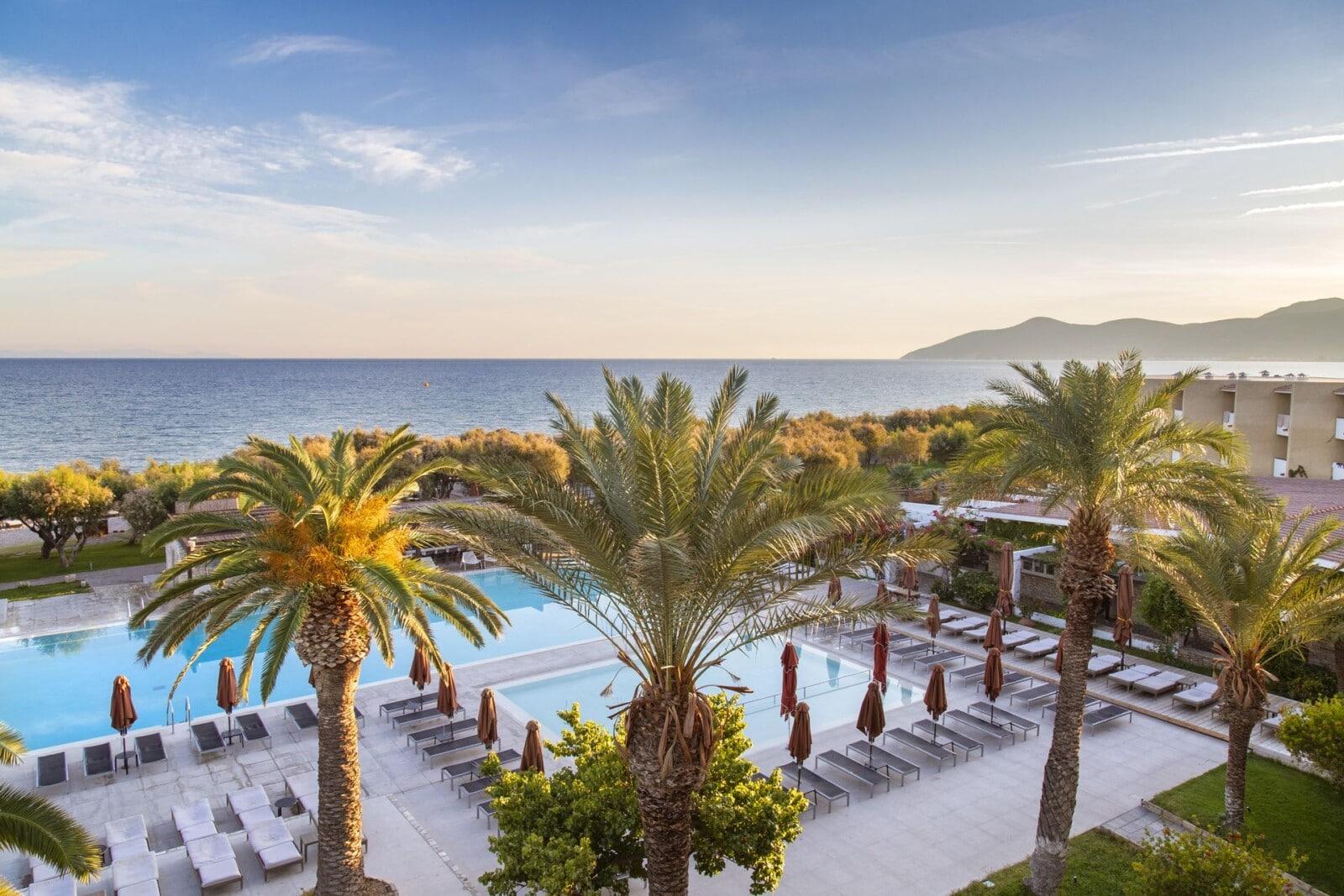 Doryssa luxury hotels in Samos main pools
