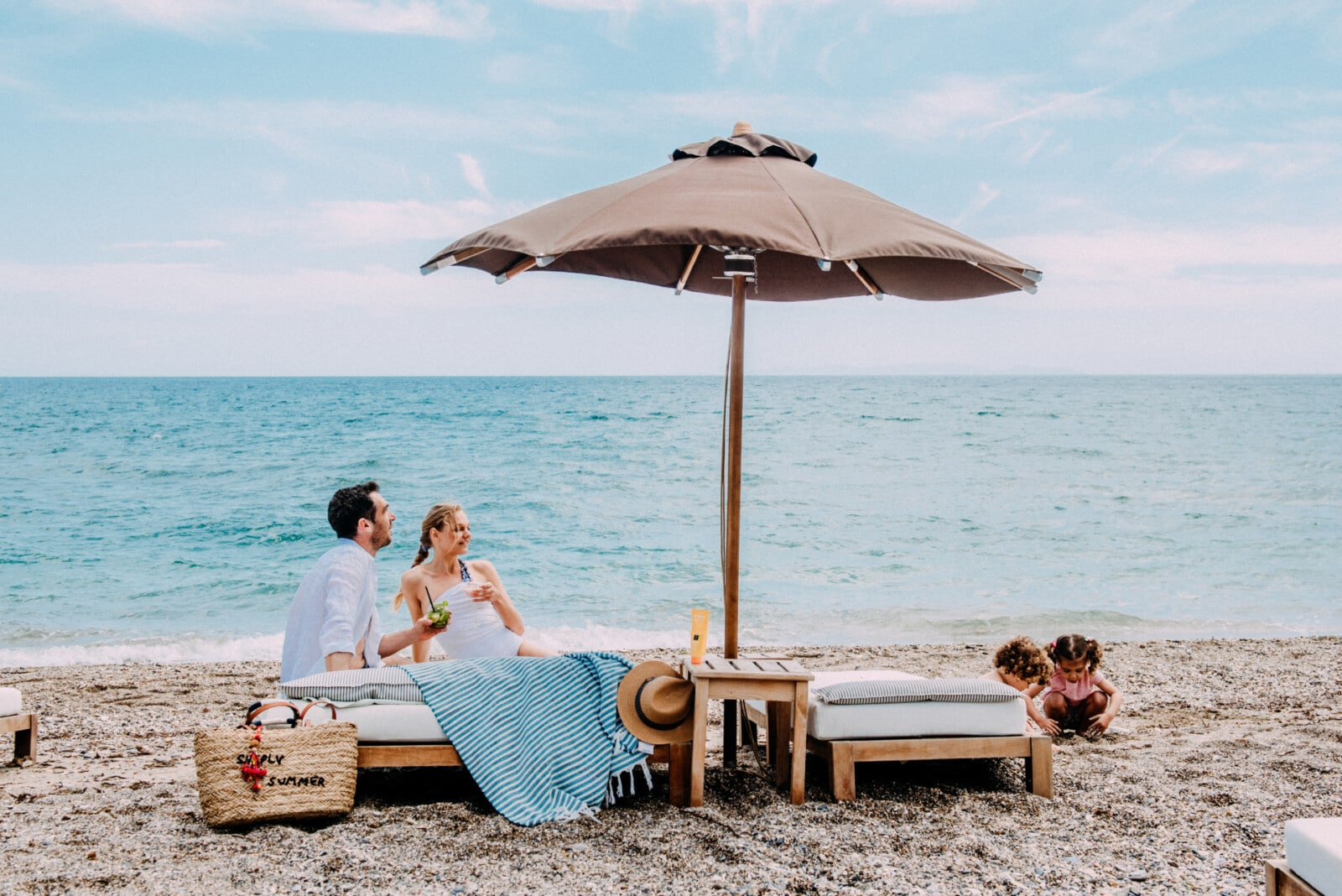 Blissful beachside moments for families at our family friendly hotel in Samos